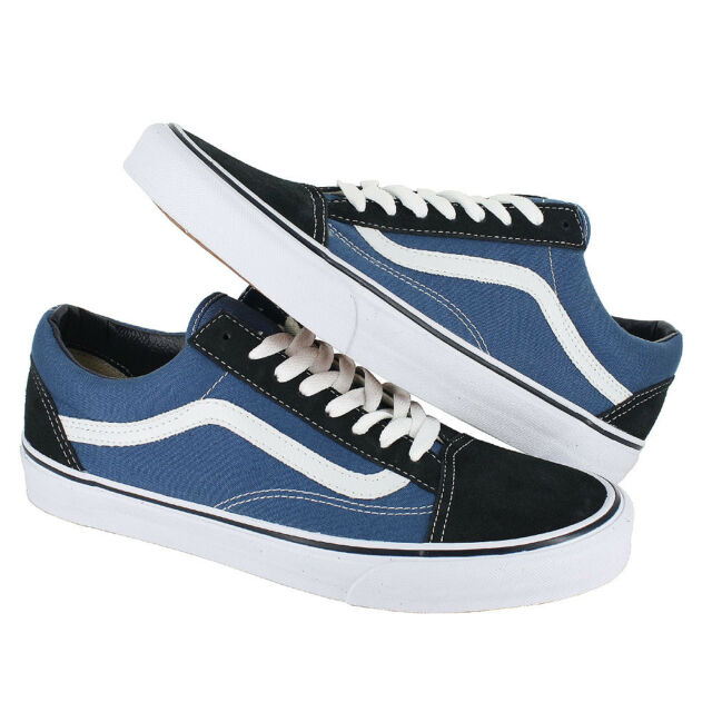 15ef8ee62ca1 VANS Vd3hnvy Unisex Old Skool Skate Shoes Navy white 9 for sale ...