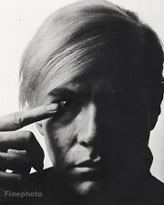 1968 Vintage 16x20 ANDY WARHOL Pop Art Gay Artist Factory Photo PHILIPPE HALSMAN
