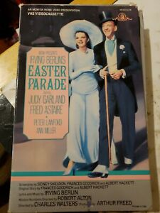 Easter-Parade-Vhs-MGM-Big-Box-Judy-Garland-Rare-Tape