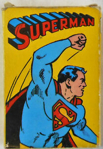 1978-Whitman-SUPERMAN-Card-Game-COMPLETE
