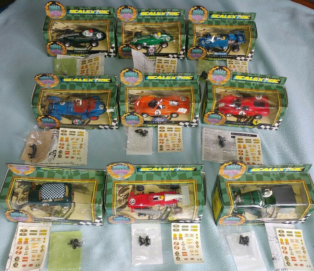 Scalextric power and glory full set
