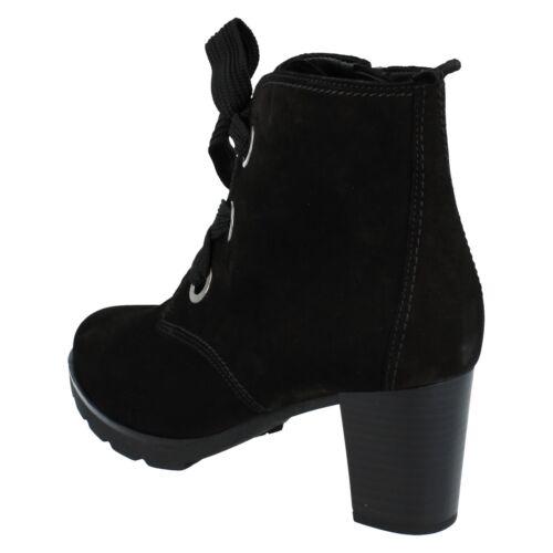Schwarzer 95745 Boots Ankle Nubuk Gabor Damen x7OIq4O