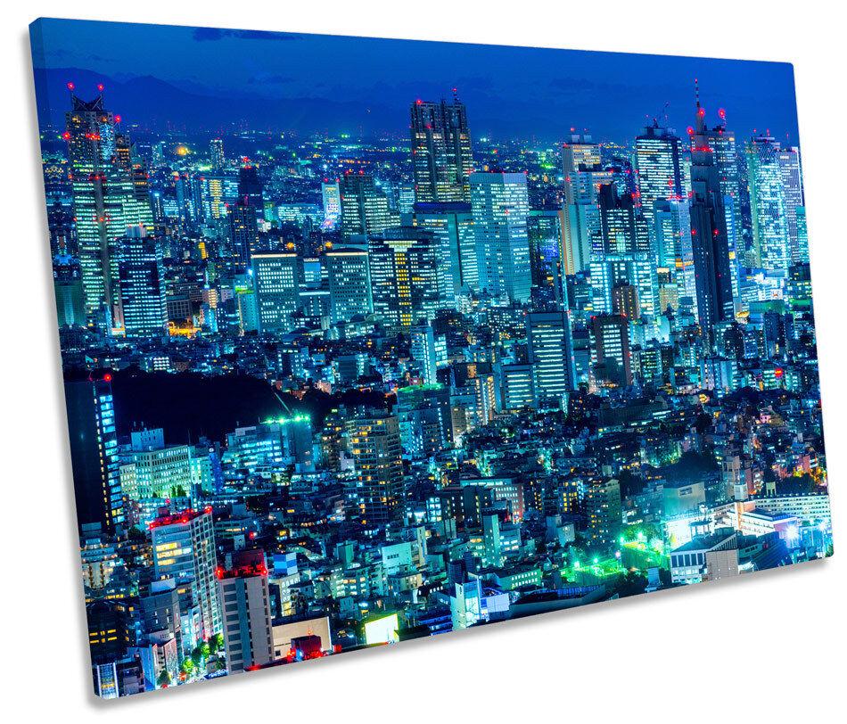 Shinjuku Giappone City Skyline Tela Muro ARTE ARTE ARTE Immagine singola stampa 79f741