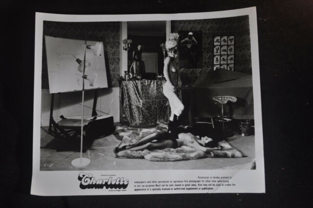 1974 Charlotte Press Photo, Roger Vadim 'Nymphomaniac' SIRPA LANE DAVID HAMILTON
