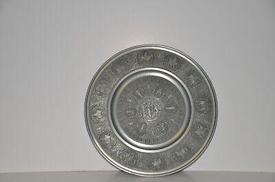 Arte E Antiquariato Lotto 5 Oggetti In Peltro Vintage Up-To-Date Styling Complementi D'arredo