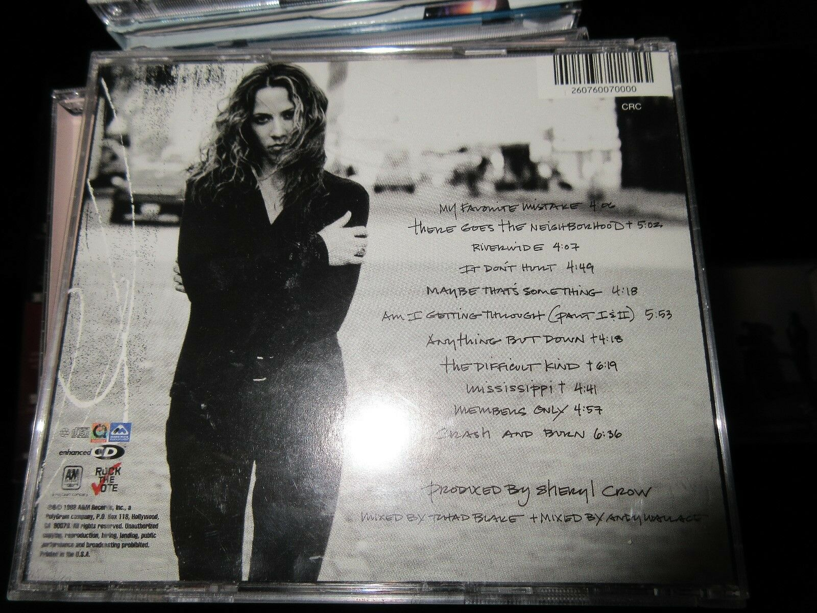 Sheryl Crow , The Globe Sessions , CD