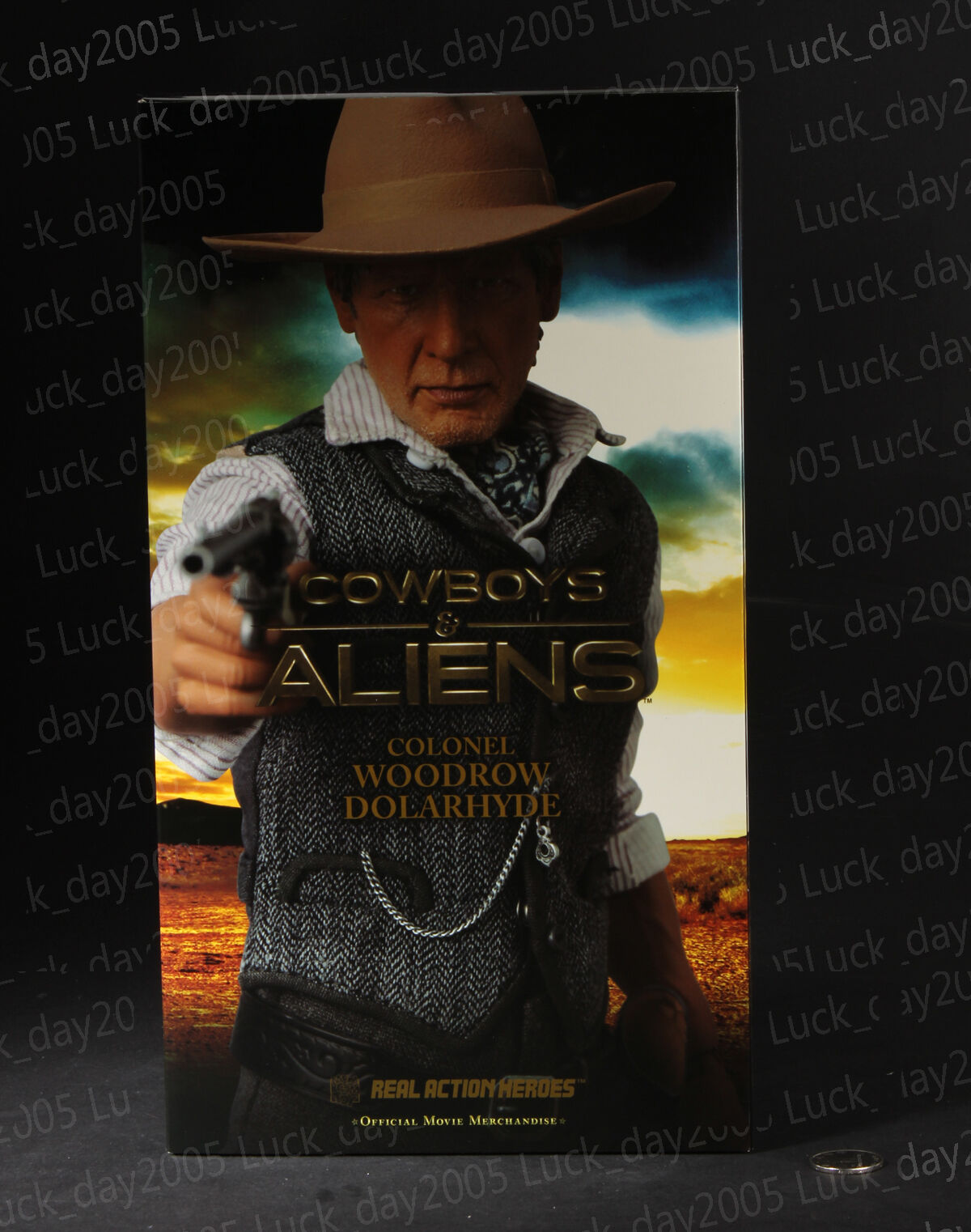 Medicom RAH Cowboys & Aliens Colonel Woodrow Dolarhyde Harrison Ford 1 6 Figure