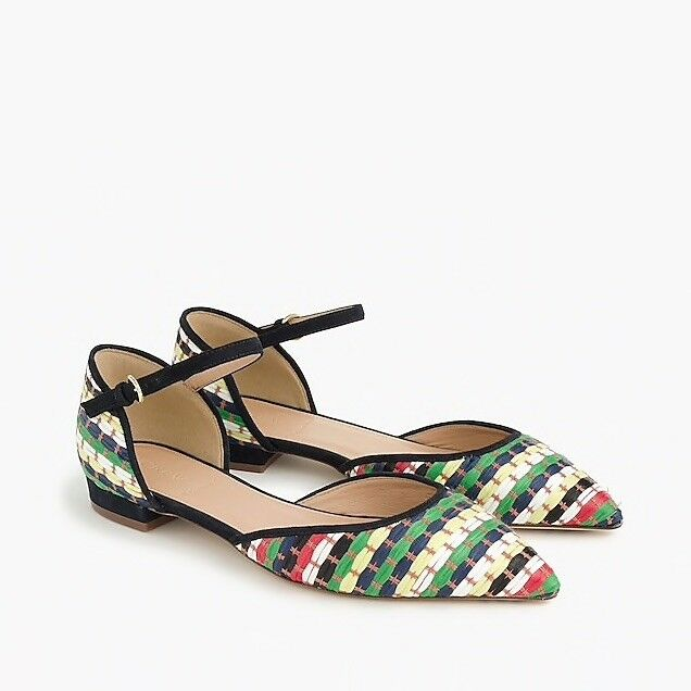 Man's/Woman's Jcrew Collection Multicolor Flats 8 service Sales Sales service Italy Pick up at the boutique c11cea
