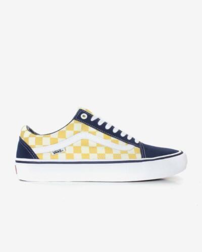Old Bleu School Pro Damier Vans Skool Unisexe Chaussures Sneaker CqfZ5x