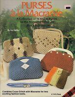 Craft Books: 7475 Plaid's Purses 'a La Macrame - Handbag Patterns
