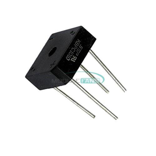 5PCS Bridge Rectifier KBPC1010 KBPC-1010 10A 1000V NEW