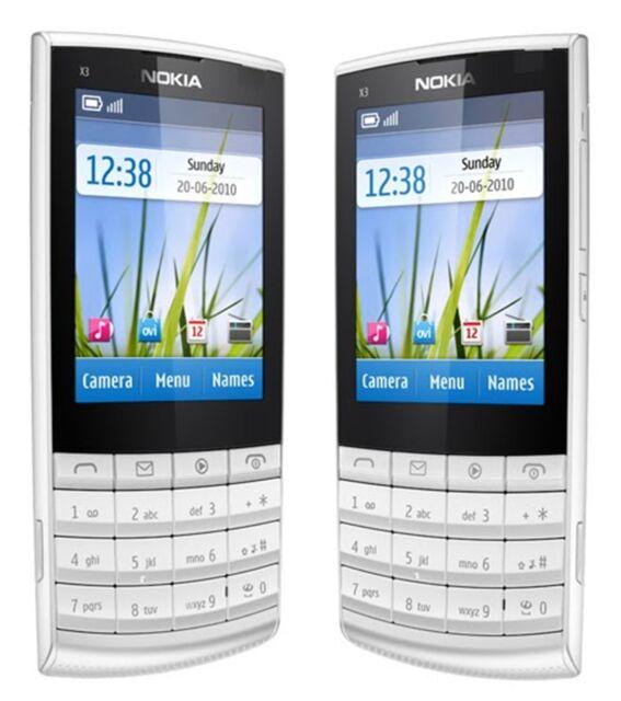 Nokia X3-02-White silver(Unlocked) Mobile Phone 3G Wifi Mobile Phone ,5MP Camera