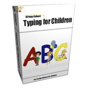 Typing-Instructor-Tutor-Kids-Children-039-s-Lesson-Software