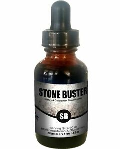 Stone Buster-Kidney/Gallbladder Pain Renal Calculi Glass Bottle (1 bottle 60 ml)