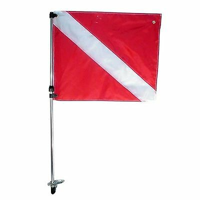 Telescoping Flag Pole - Stern Light Base Mount