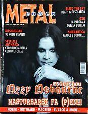 Metal Shock 433/2016 Ozzy Osbourne Anthrax Meshuggah Noekk Gotthard Macbeth