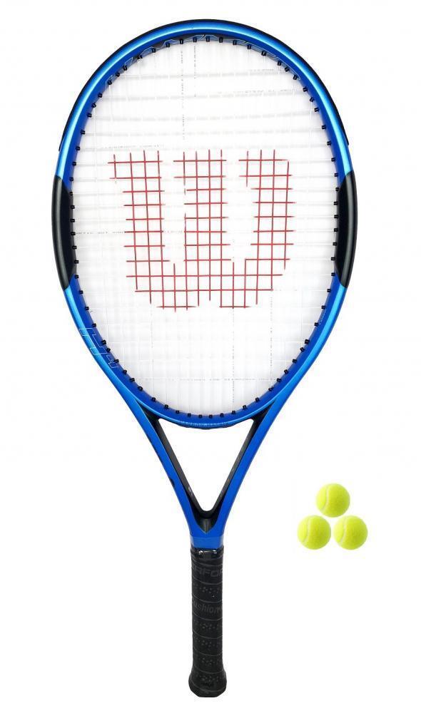 Wilson Hammer  H4 Raqueta De Tenis + 3 Pelotas De Tenis  mejor marca
