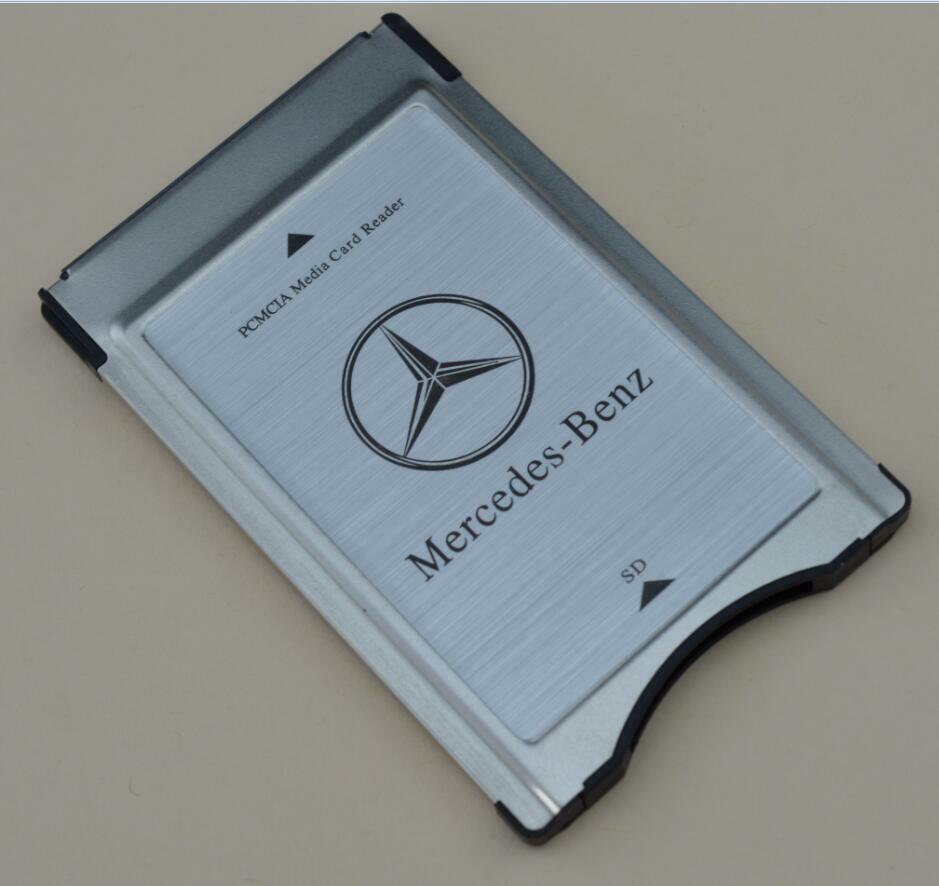 Pcmcia to sd sdhc card adapter for mercedes benz sandisk for Pcmcia mercedes benz