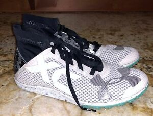 buy popular 2e750 fd746 Image is loading UNDER-ARMOUR-UA-Charged-Bandit-XC-WHITE-Cross-