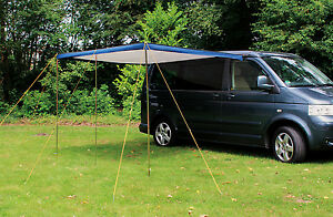 eurotrail fjord campervan camper sun canopy awning vw t4 t5 t6 lwb