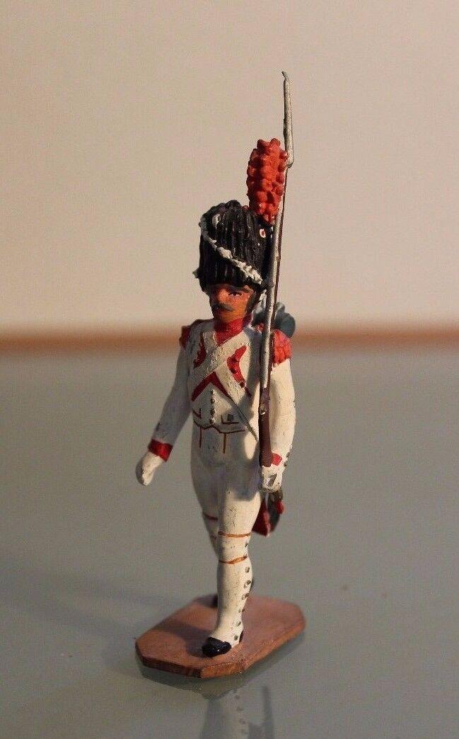 Figurine soldier lead AUGER Premier Empire Paris Years 50