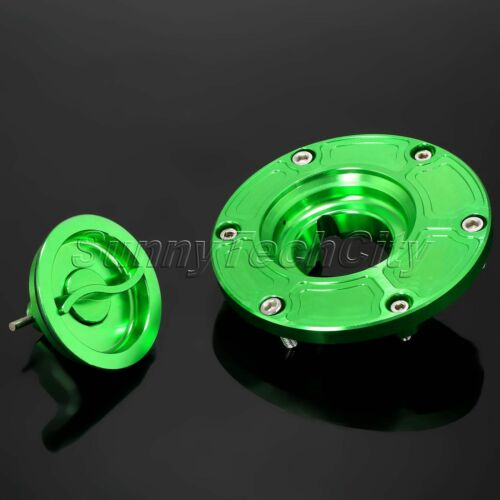 CNC Keyless Fuel Gas Tank Cap Cover For Triumph Daytona 675 955i T595 600 650