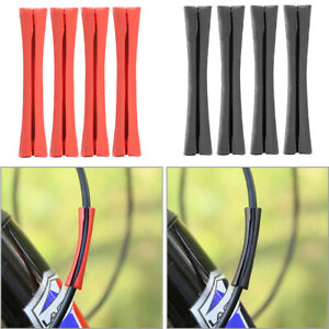 4x Road Bike Gear Shift Pipe Protector Sleeve MTB Bicycle Frame Protective Wire