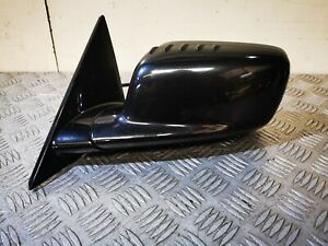 BMW E46 Coupe Convertible 11 Wire Power Fold Wing Mirror Black Gloss M Sport N/S
