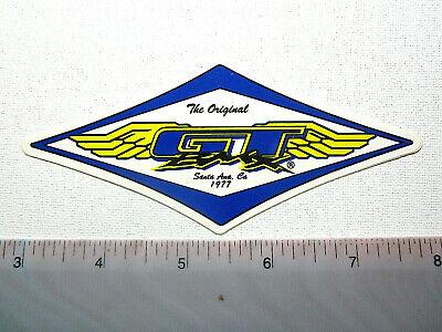 Vintage GT  Cro Moly Nos OS BMX original sticker  decal