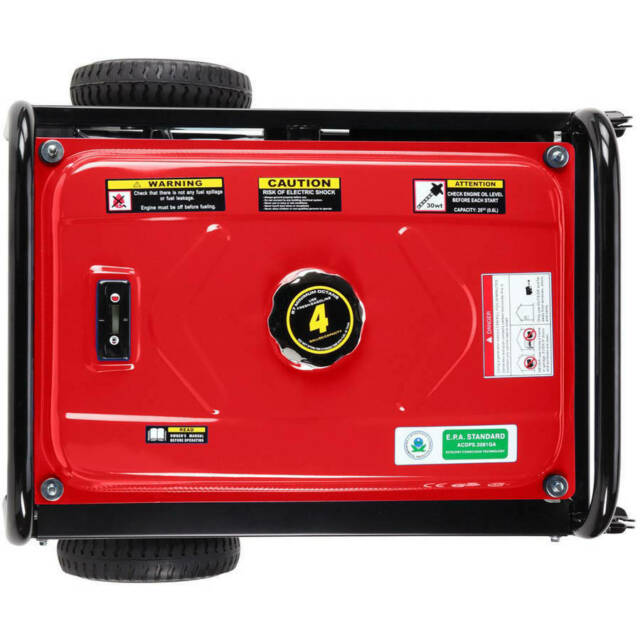 Gas Powered Portable Generator 3500 Running Watts//4400 Starting Watts DuroStar DS4400