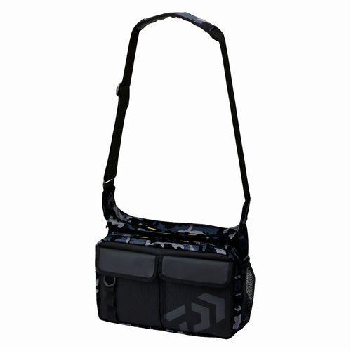 Daiwa Bolso de Hombro C Negro Camuflaje   saludable
