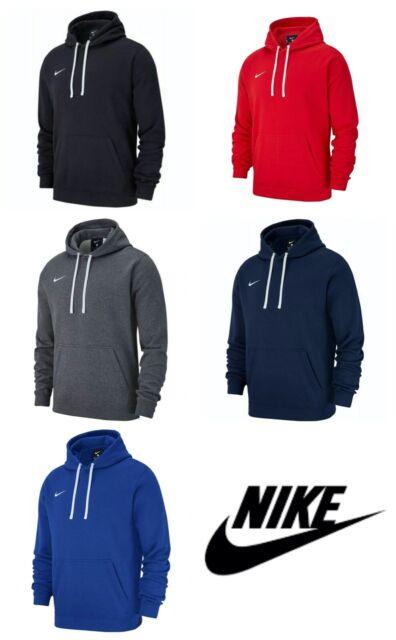 Nike Mens Hoodies Team Club 19 Hoodie Hooded Sweatshirt Pullover Fleece  Hoody