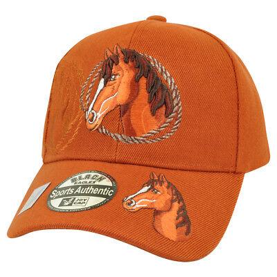 Sport Reiten Rodeo Cowboy Gebrannte Orange Mustang Draußen Land Hut VerrüCkter Preis Weitere Ballsportarten