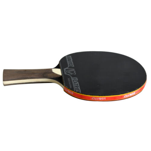 Viavito TABLE TENNIS BAT flatrick 5 Star Paddle 5-Ply ping pong raquette