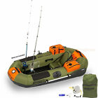 SEA EAGLE PACKFISH 7 DELUXE PACKAGE PORTABLE INFLATABLE FISHING BOAT RAFT