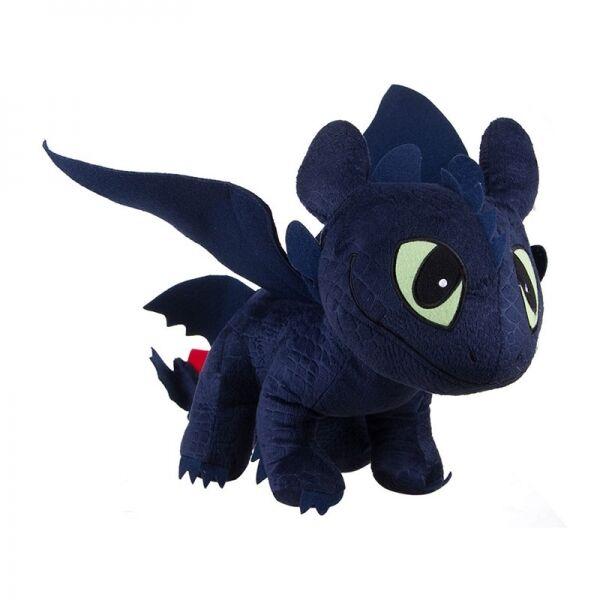 Dragons peluche 90cm SDENTATO FURIA BUIA 4 zampe Toothless ORIGINALE DREAMWORKS