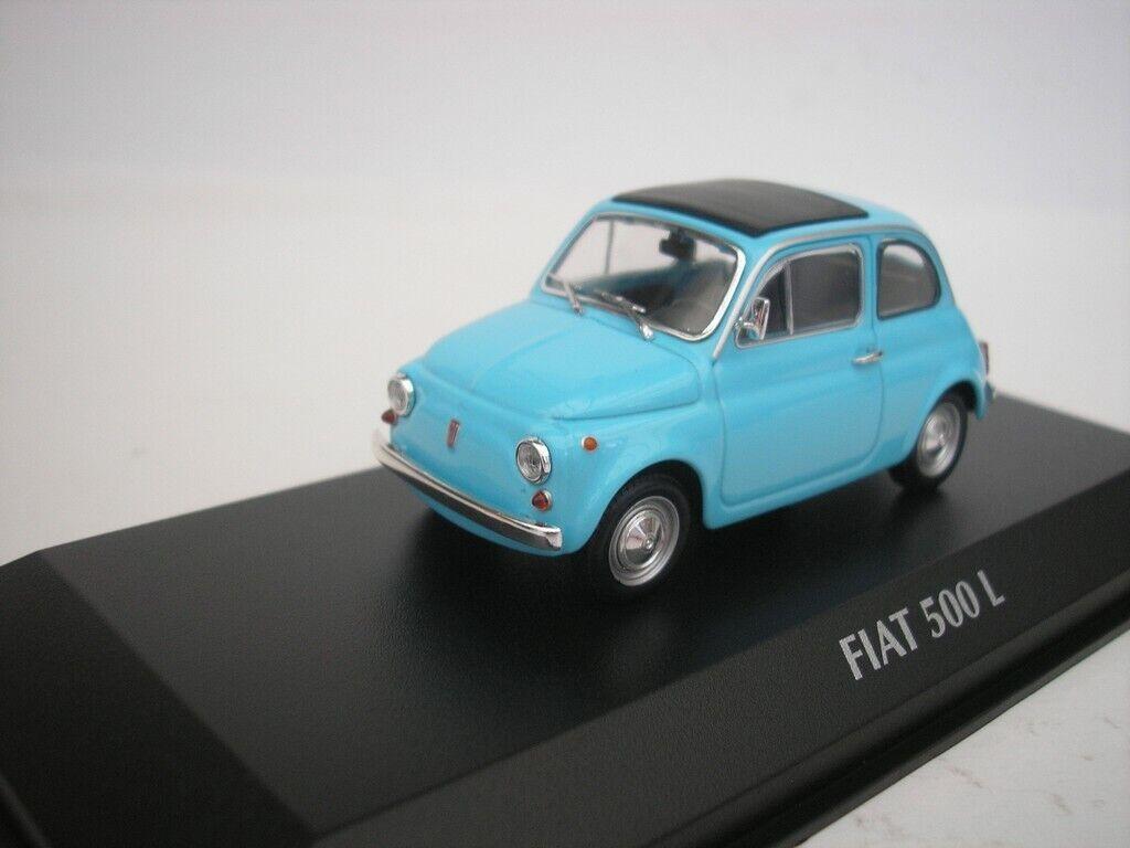 Fiat 500L 500L 1965 Azul 1 43 maxichamps 940121601 Nuevo
