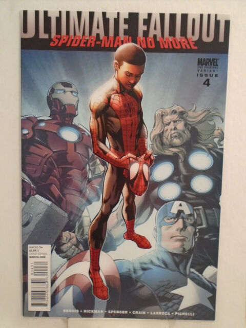 ULTIMATE FALLOUT #4 (2011) 1st App Miles Morales 2ND PRINT HIGH GRADE! NM/MINT!