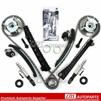 Timing Chain Kit W/ 2 Cam Phasers 2 Timing Solenoid Valves Ford 5.4l 3v on sale