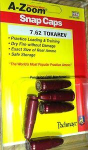 15133 A-Zoom Metal Snap Caps- Tokarev 7.62- 15133- 5 par paquet-afficher le titre d`origine QJG2XduX-07143452-375166947