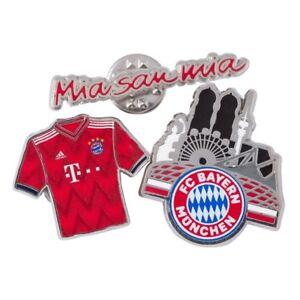 Pin-Anstecker-FC-Bayern-Muenchen-3-er-Set