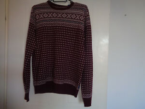 4fd111208 Gant Mens Wool Xmas Fairisle Jumper Size S NEW WITH TAG SEE ...