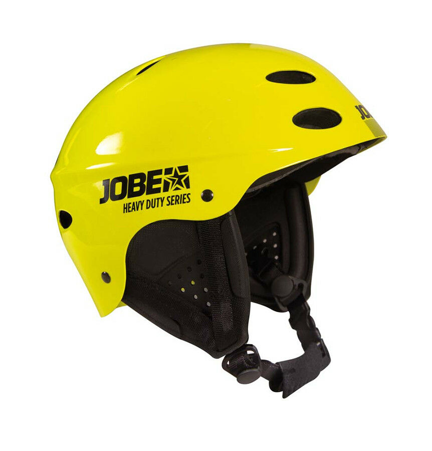 2018 Jobe Heavy Duty Hardshell Watersports Helmet, Small-XLarge, yellow. 68555