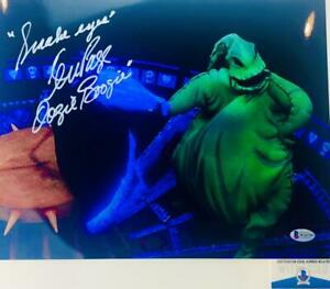 Ken-Page-signed-Oogie-Boogie-11X14-photo-NBC-BAS-COA-W24799