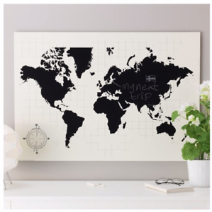 Details about IKEA MOLLTORP World Map Chalkboard Organizer Picture on hp world map, johnson world map, anthropologie world map, public-domain vintage world map, the church of lds missions world map, dunkin donuts world map, ireland location in world map, pepsi world map, carrefour world map, bank of america world map, earth tone world map, barnes & noble world map, crate and barrel world map, philips world map, kohl's world map, grandin road world map, craigslist world map, pizza hut world map, modge podge world map, sotheby's world map,