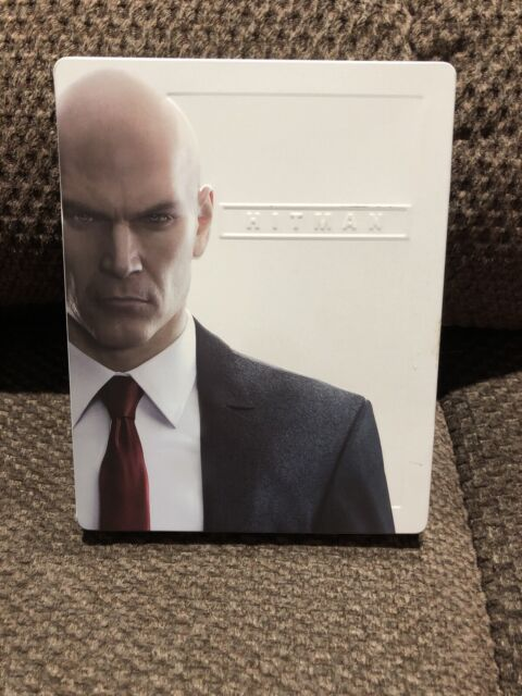 Hitman Complete First Season Steelbook Edition Ps4 No Cover Square Enix | eBay