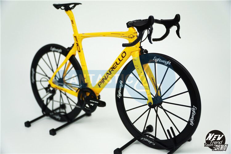 1 6 Scale Pinarello Dogma F10 Bicycle Plastic Model Yellow lightweight