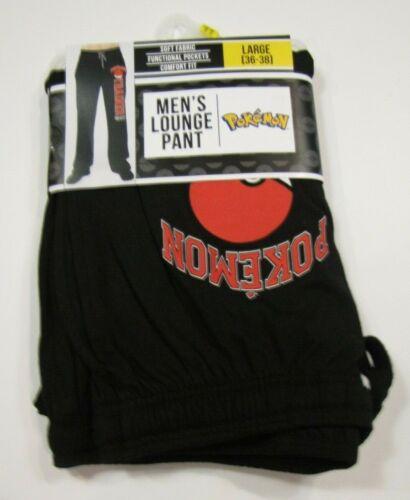 Men/'s Pokemon Trainer Pokeball Sleep Pants Lounge Pant Pajamas S L XL New