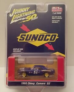 1968 Chevrolet Camaro SS Sunoco racing ** RR ** Johnny Lightning mijo 1:64 OVP