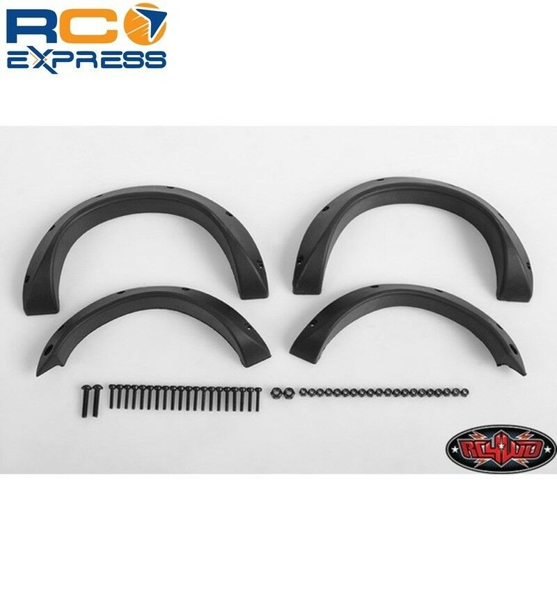 RC 4WD Fender Flares for Tamiya F350 RC4Z-S1621